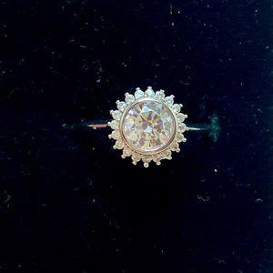 Fragrant Jewels Diamond Ring Size 8